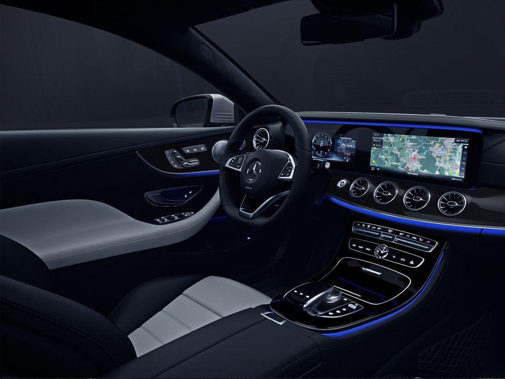 E-Class Coupe Interior Dark