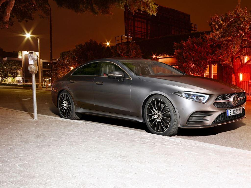 Grey CLS-Coupe