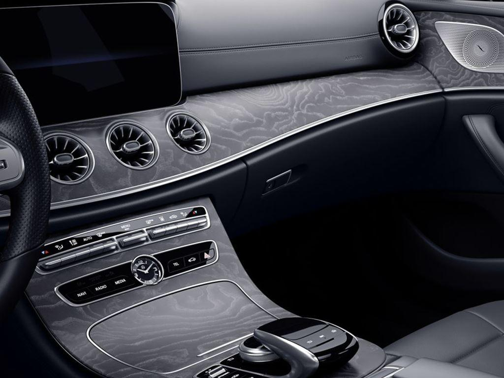 CLS-Coupe central console