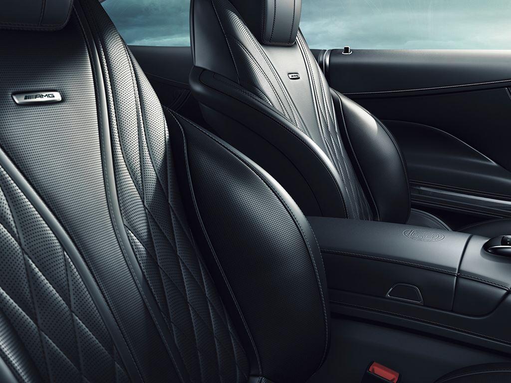 S-Class Coupe Interior