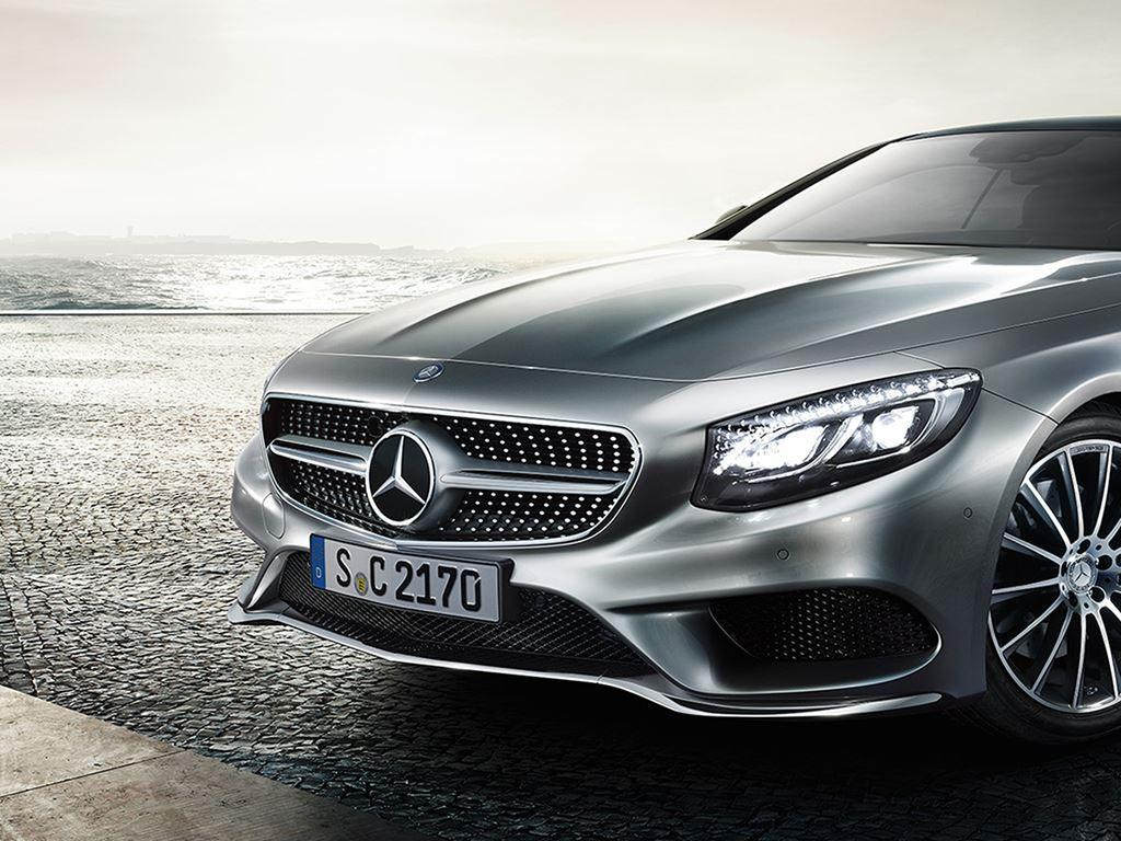 Grey S-Class Coupe
