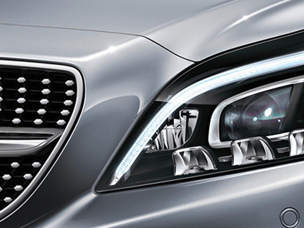 S-Class Coupe Headlight