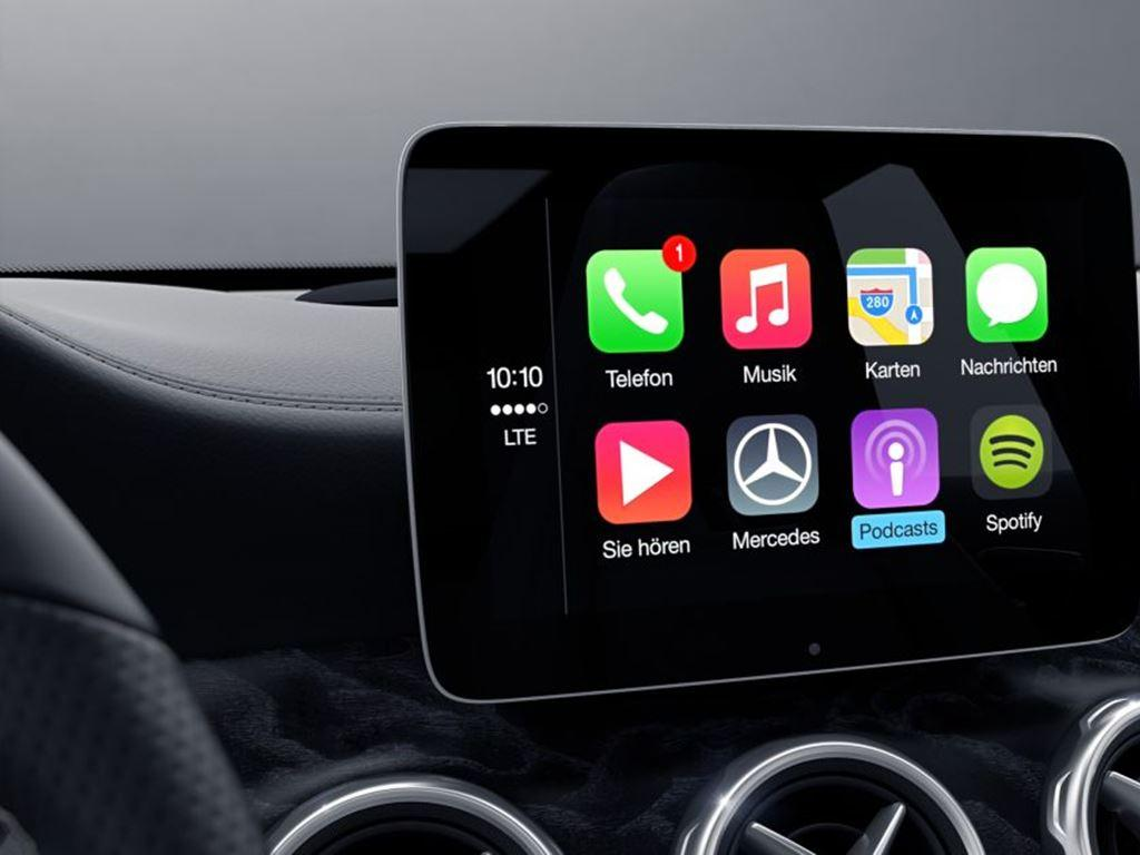 S-Class Coupe Carplay