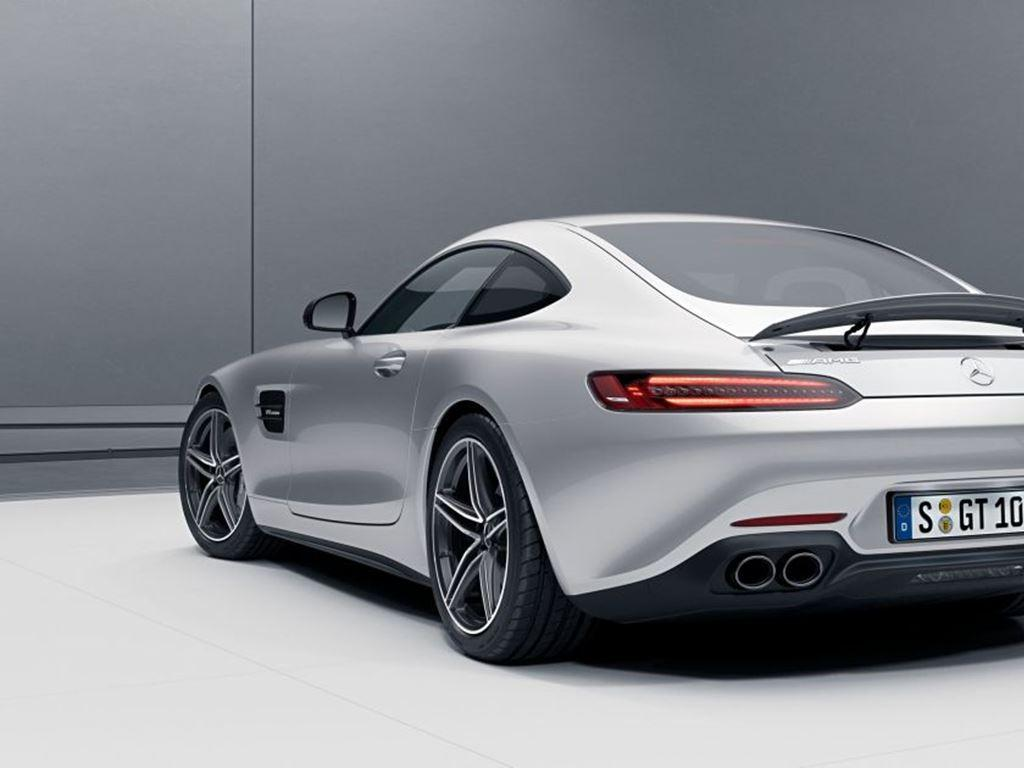 AMG GT Coupe Silver