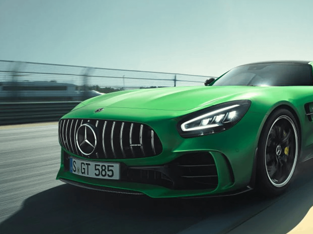 Green AMG GT Coupe