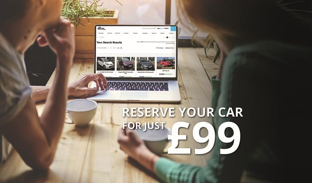 Reserve Your Car Online For Just £99