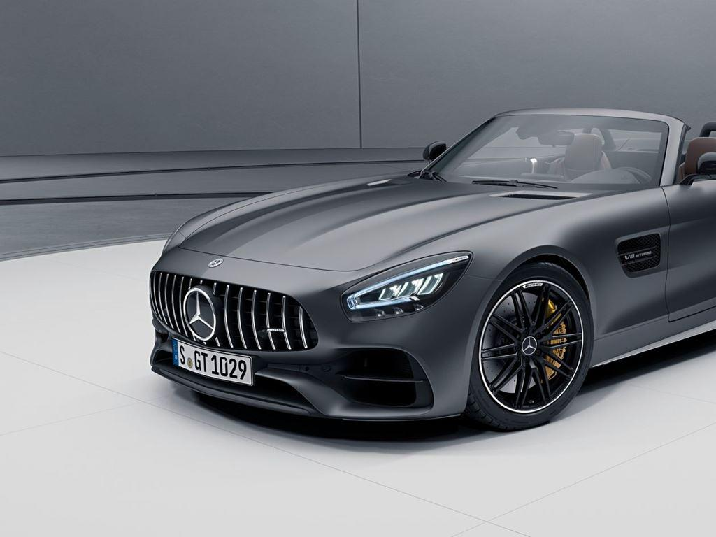 Grey AMG GT Roadster Exterior