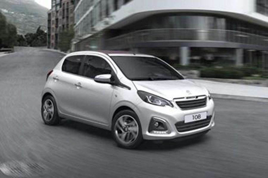 Peugeot 108 Active 1.0l 72 5dr Stop & Start