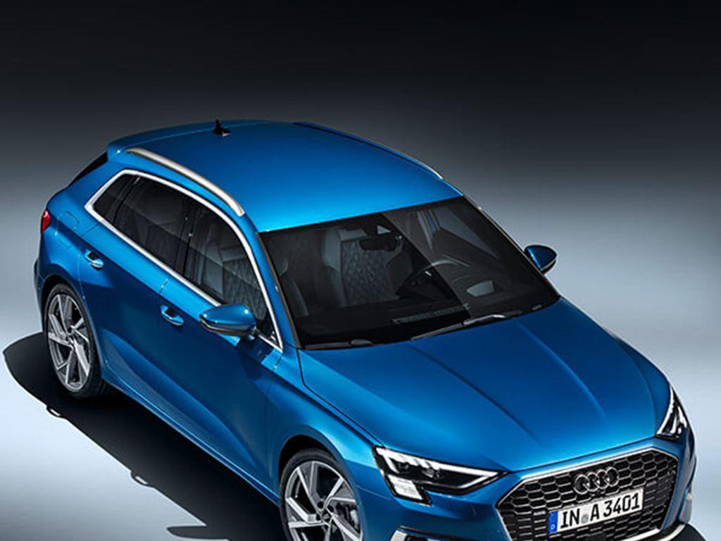 Blue A3 Sportback