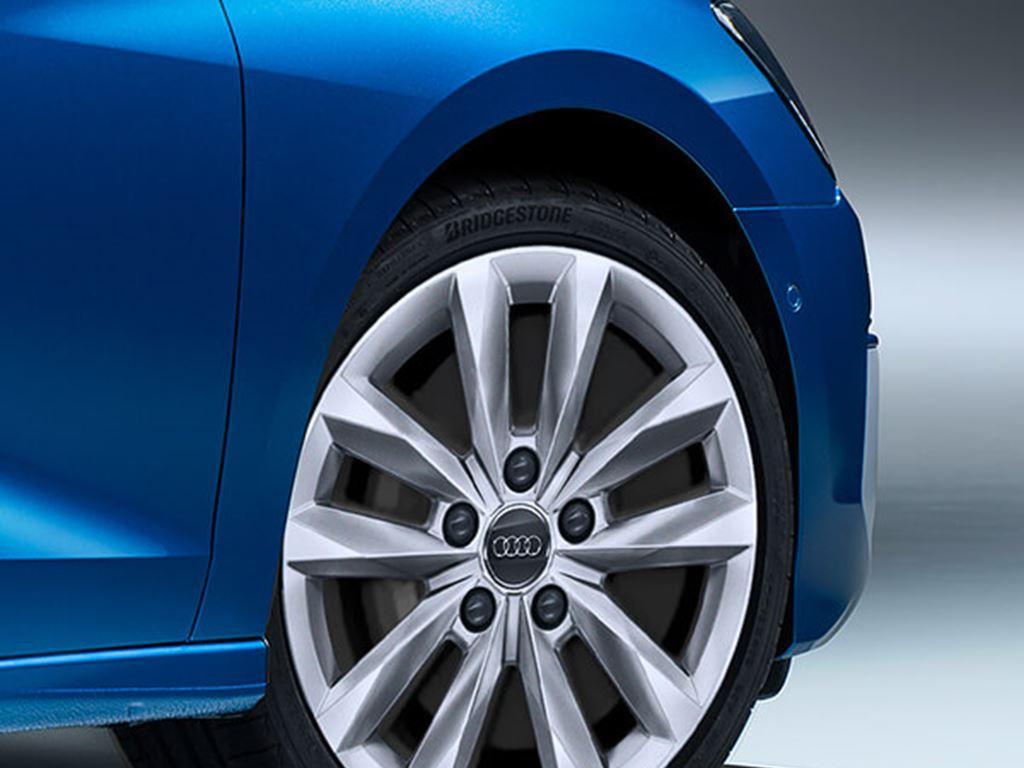 Blue A3 Sportback Wheel