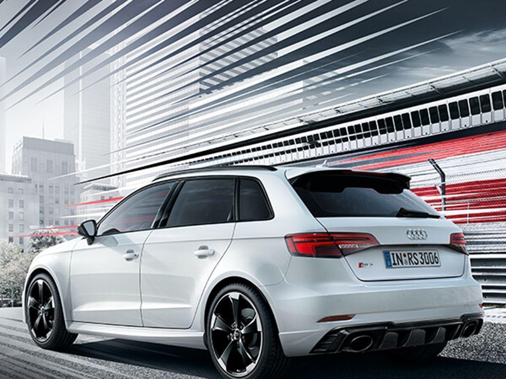 White RS3 Sportback