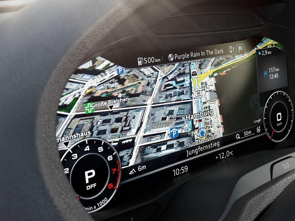 RS3 Interior Dashboard