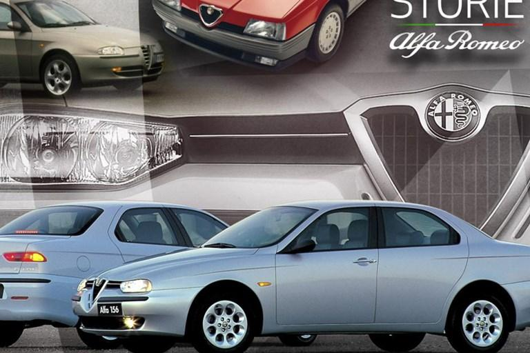 """""""STORIE ALFA ROMEO"""" DESIGN, SPORTINESS AND INNOVATION - THE 156 WAS AN AUTHENTICALLY SUCCESSFUL ALFA ROMEO"""