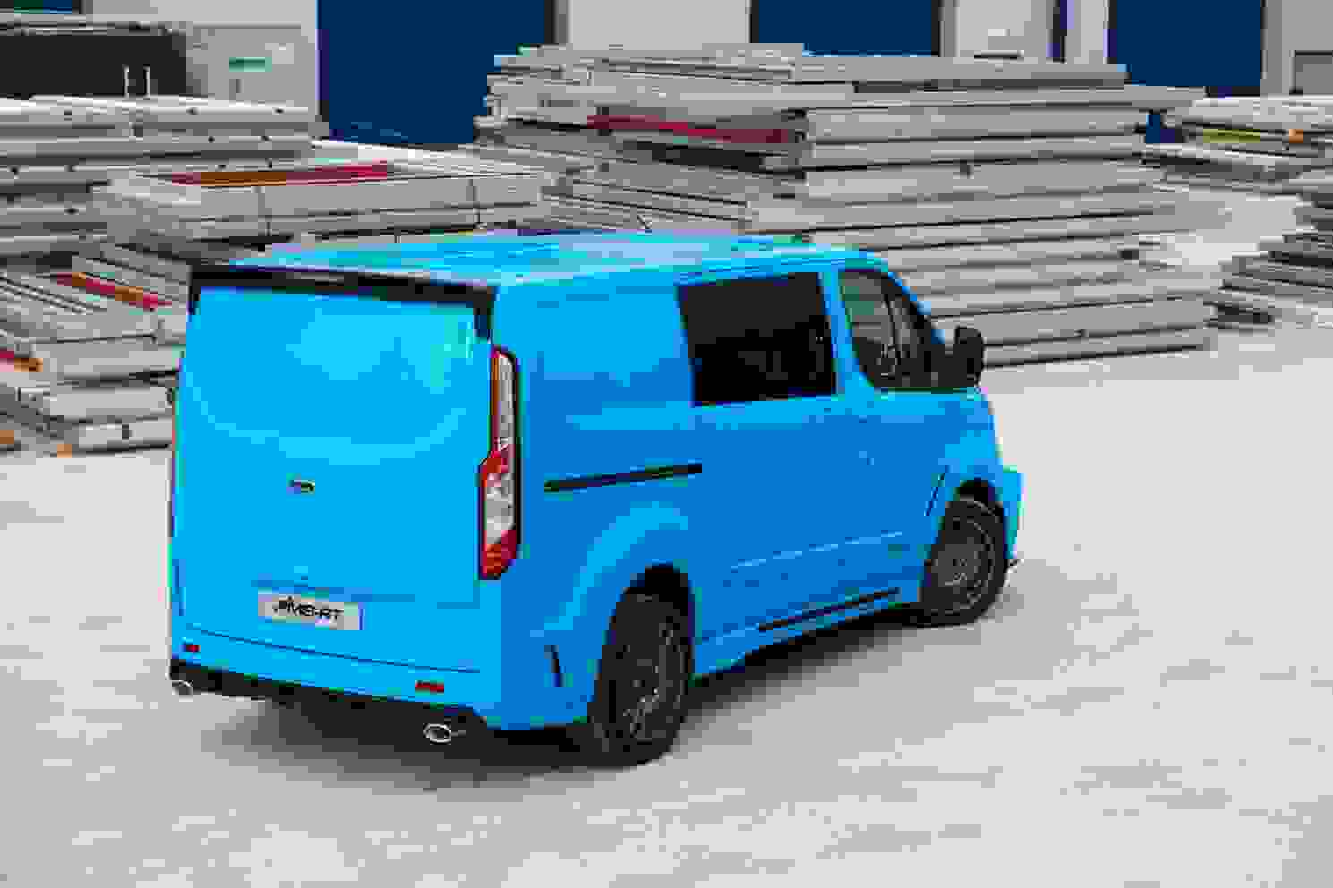 Transit Custom DCIV SVO Edition