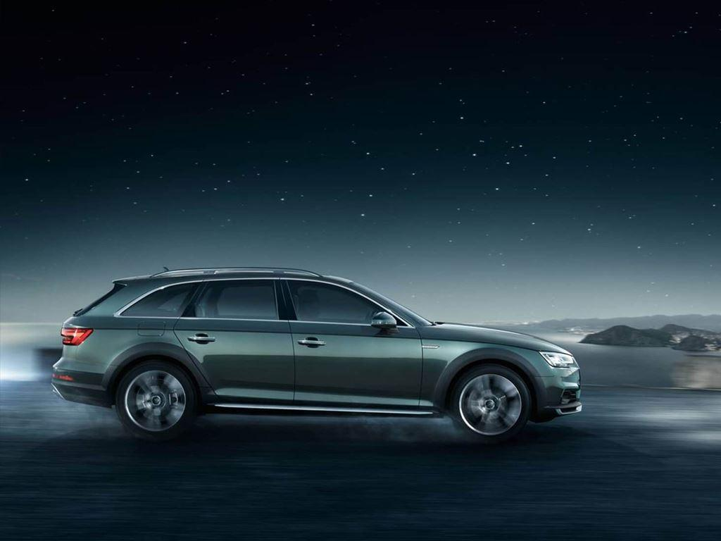A4 Allroad side view