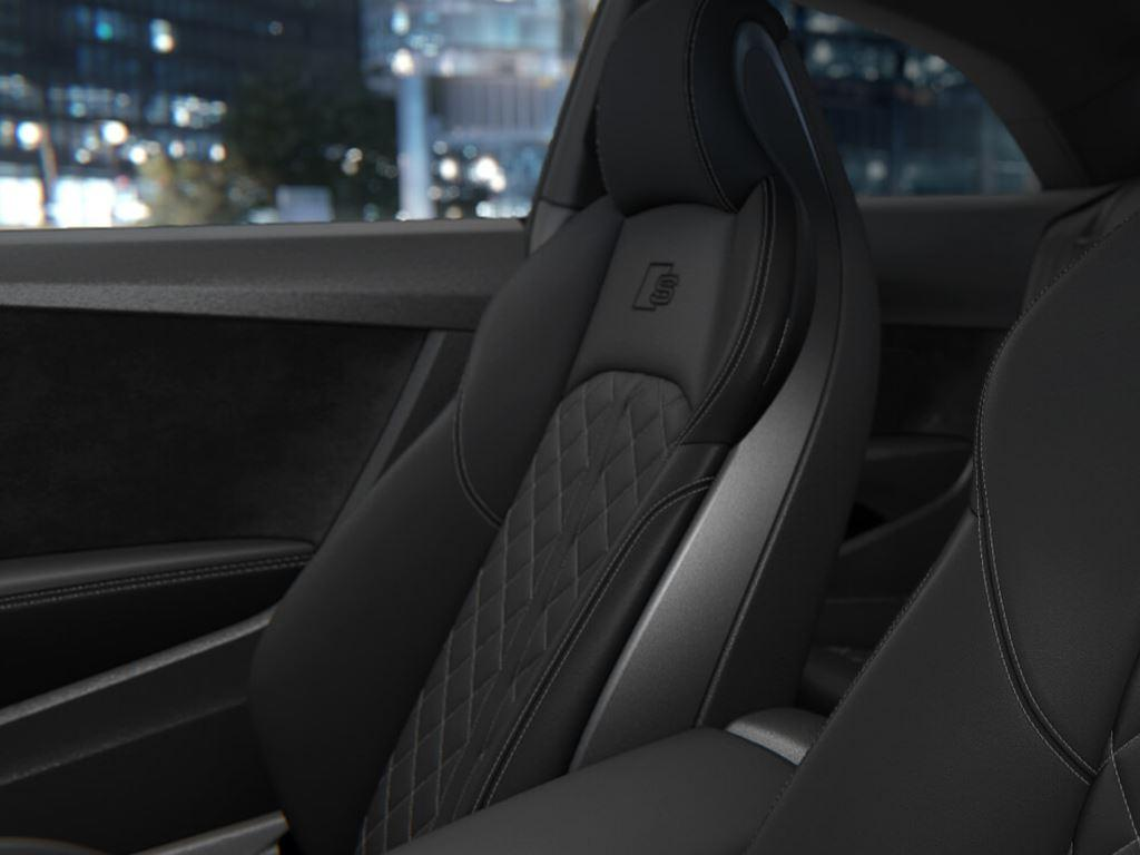 S5 Coupe seats