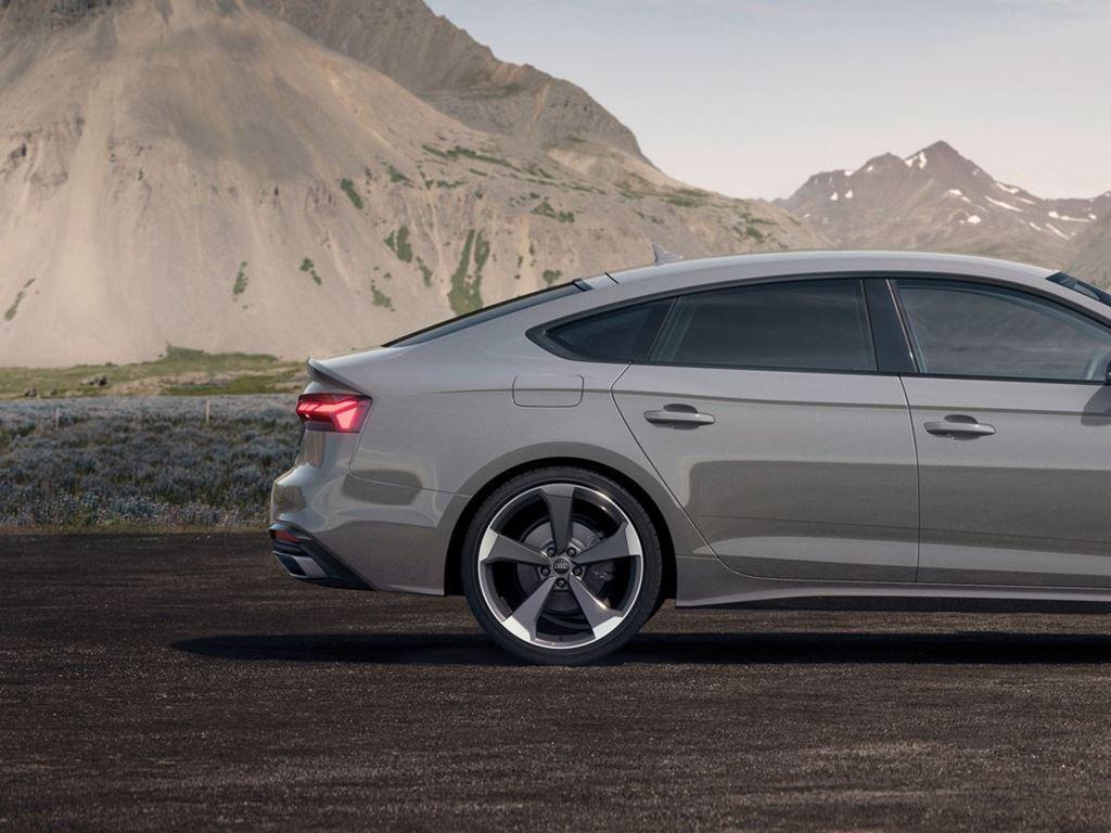 Grey A5 Sportback Side View