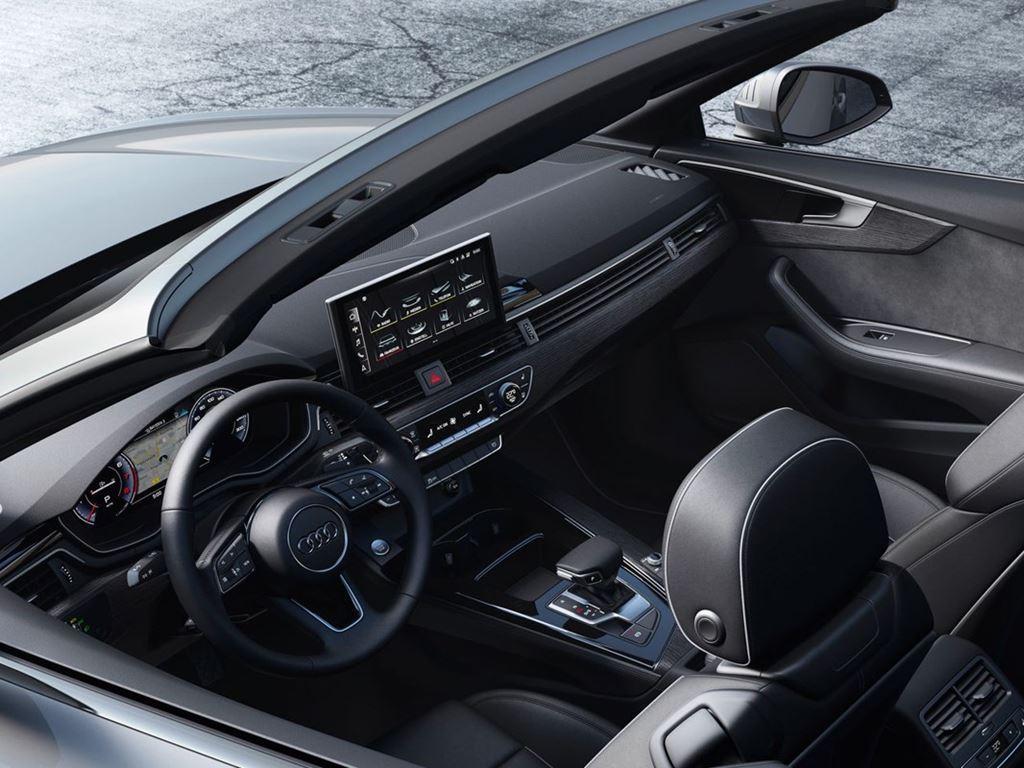 A5 Cabriolet Interior