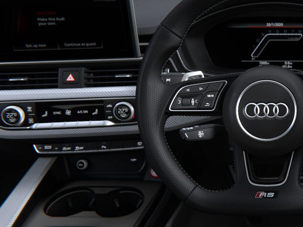 RS5 Coupe Interior Steering Wheel
