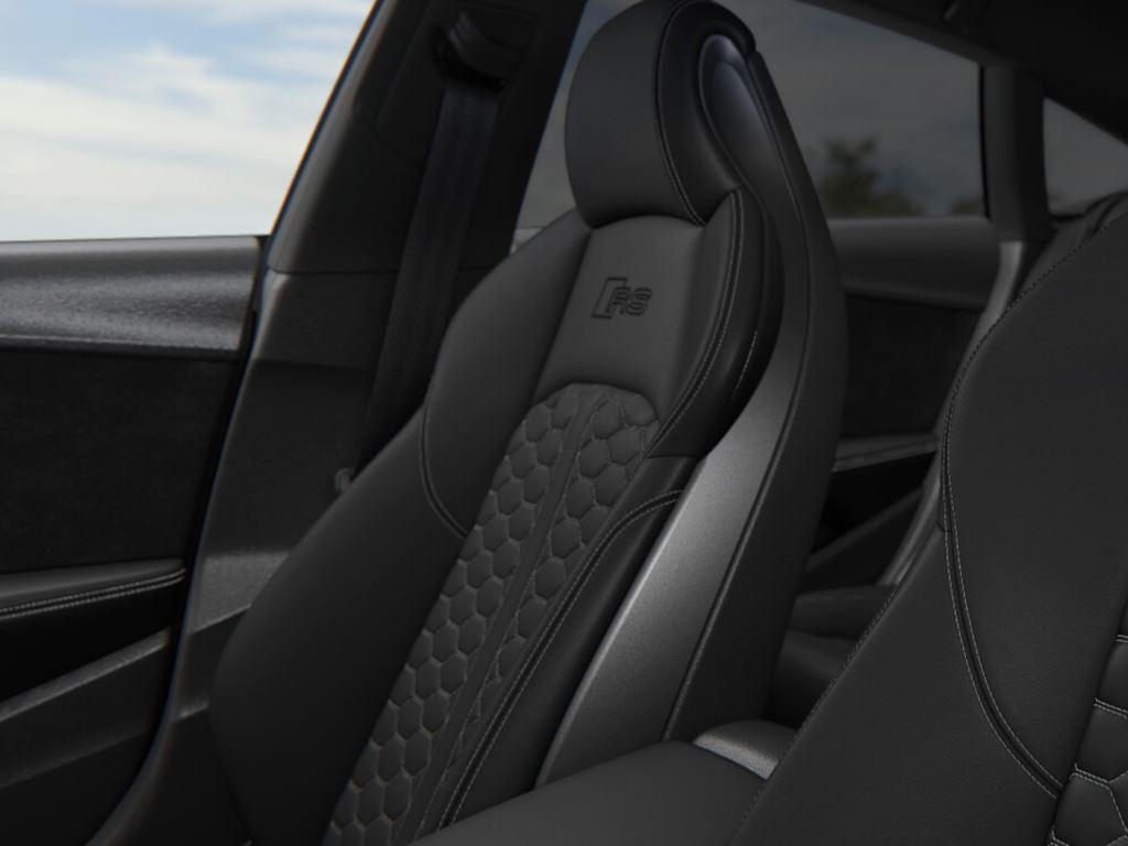 RS5 Sportback Seat detail