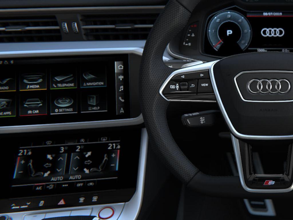 S6 Saloon Steering Wheel