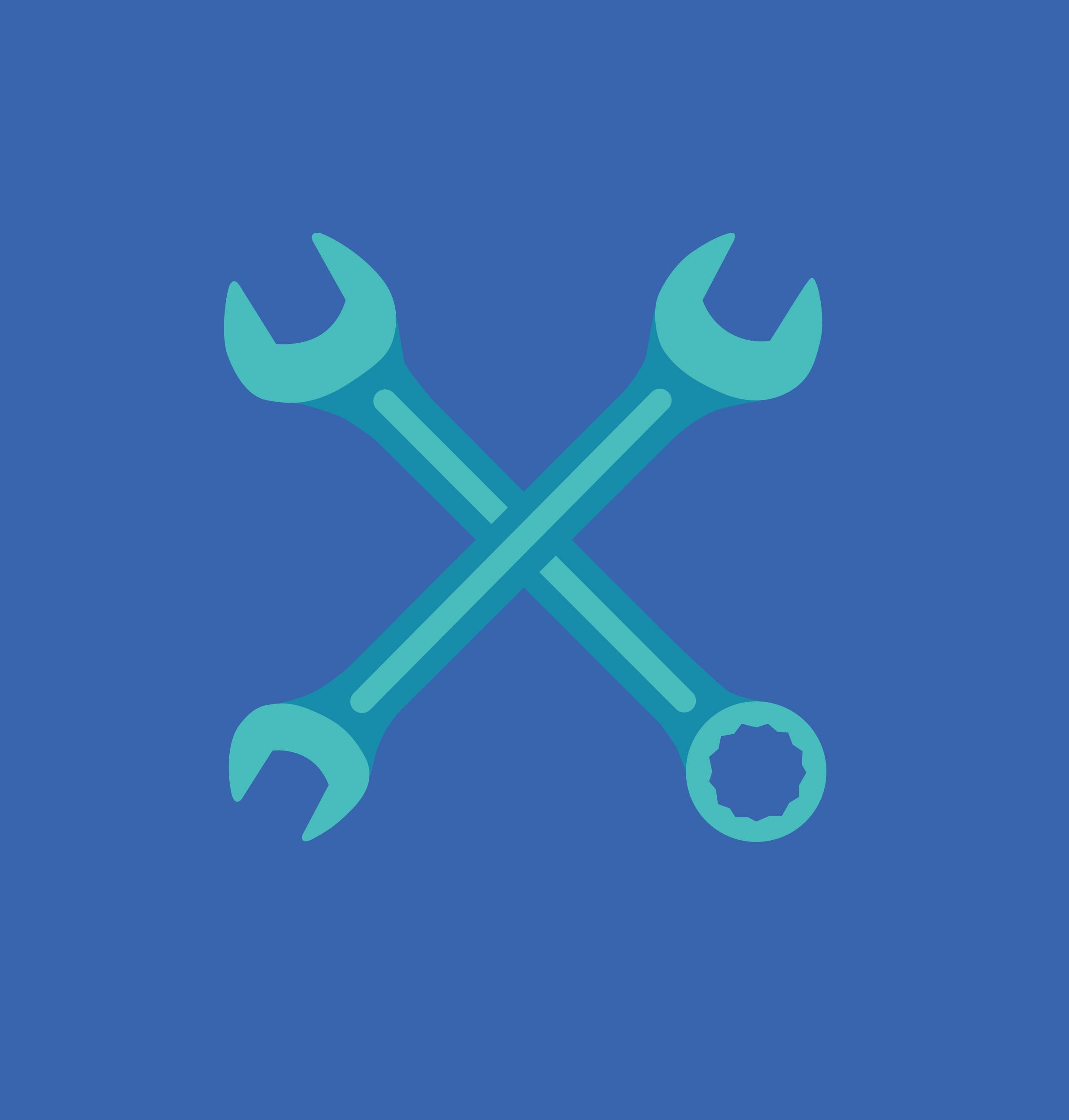 Crossed Spanner icons