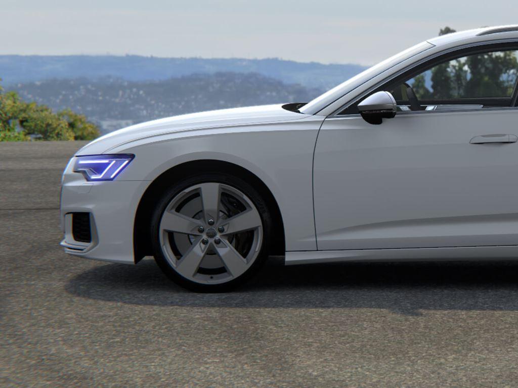 White S6 Avant side view