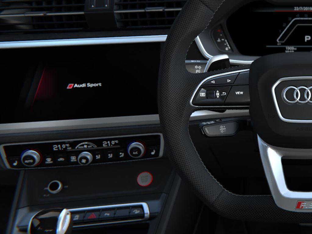 RS Q3 Sportback Steering Wheel