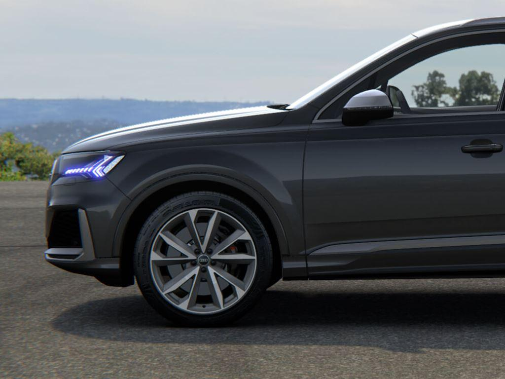 Grey SQ7 Side View