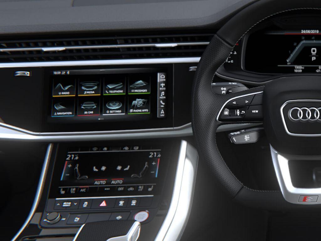 SQ7 Steering Wheel