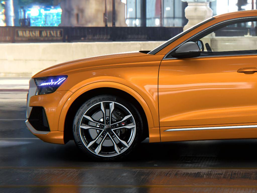 Orange SQ8 Side view