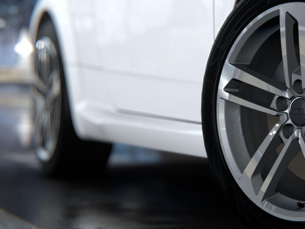 TT Coupe alloy wheels