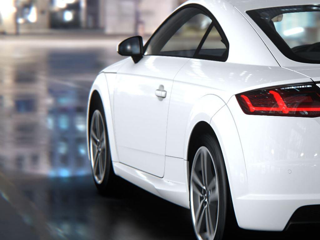 White TT Coupe