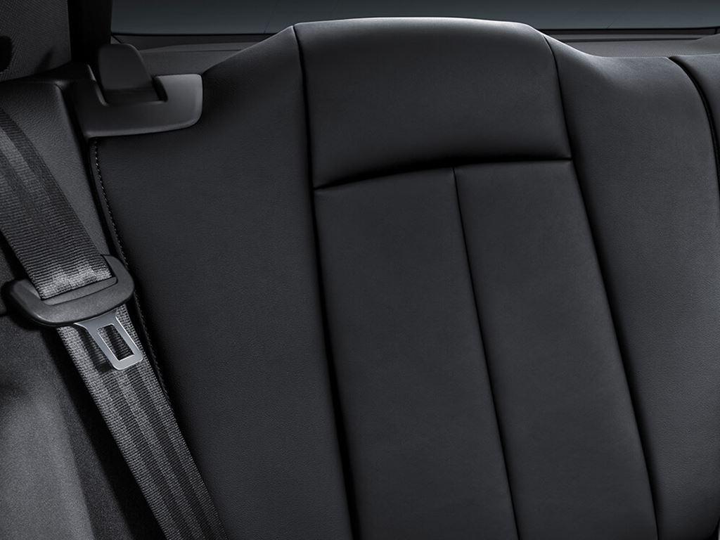 TT Coupe Rear Seats