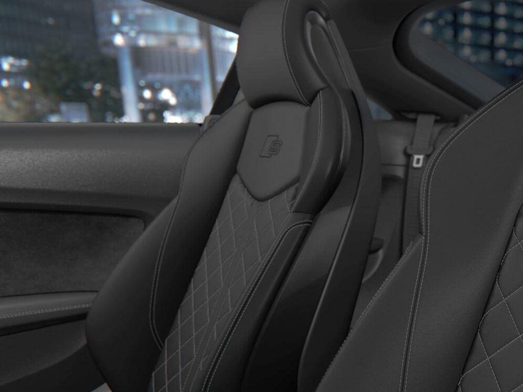 TTS Coupe interior seats