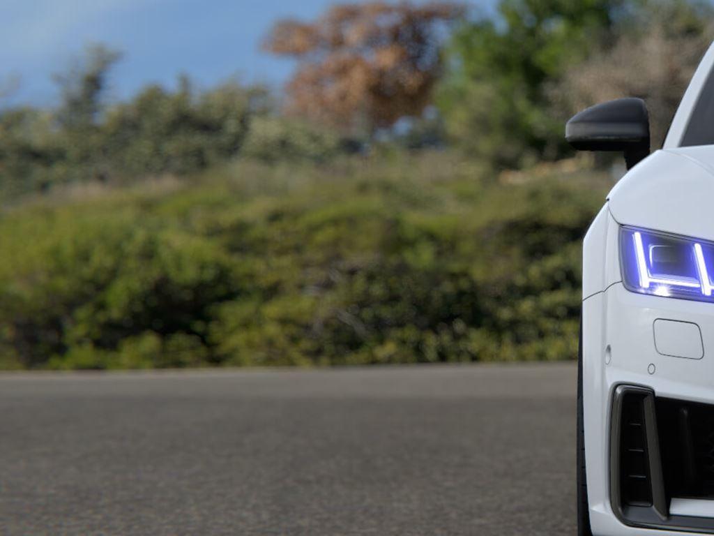 TTS Roadster in white