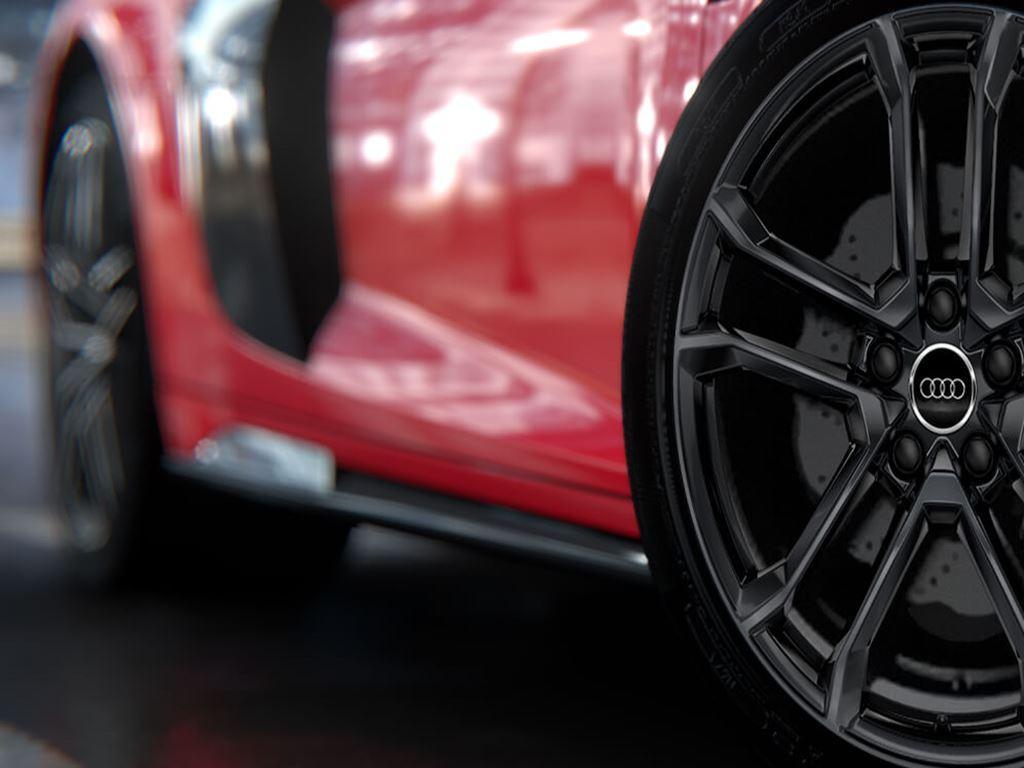 R8 Coupe alloys