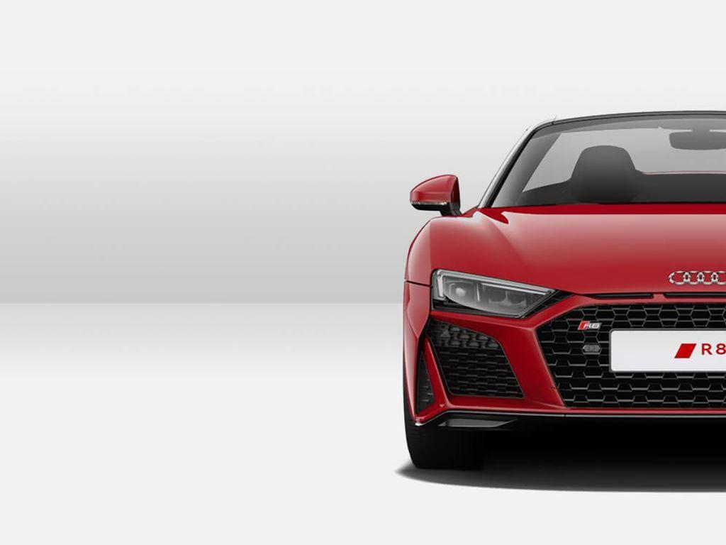 Red R8 Spyder Front view