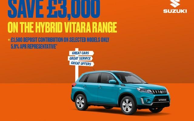 Suzuki Vitara Hybrid Offers