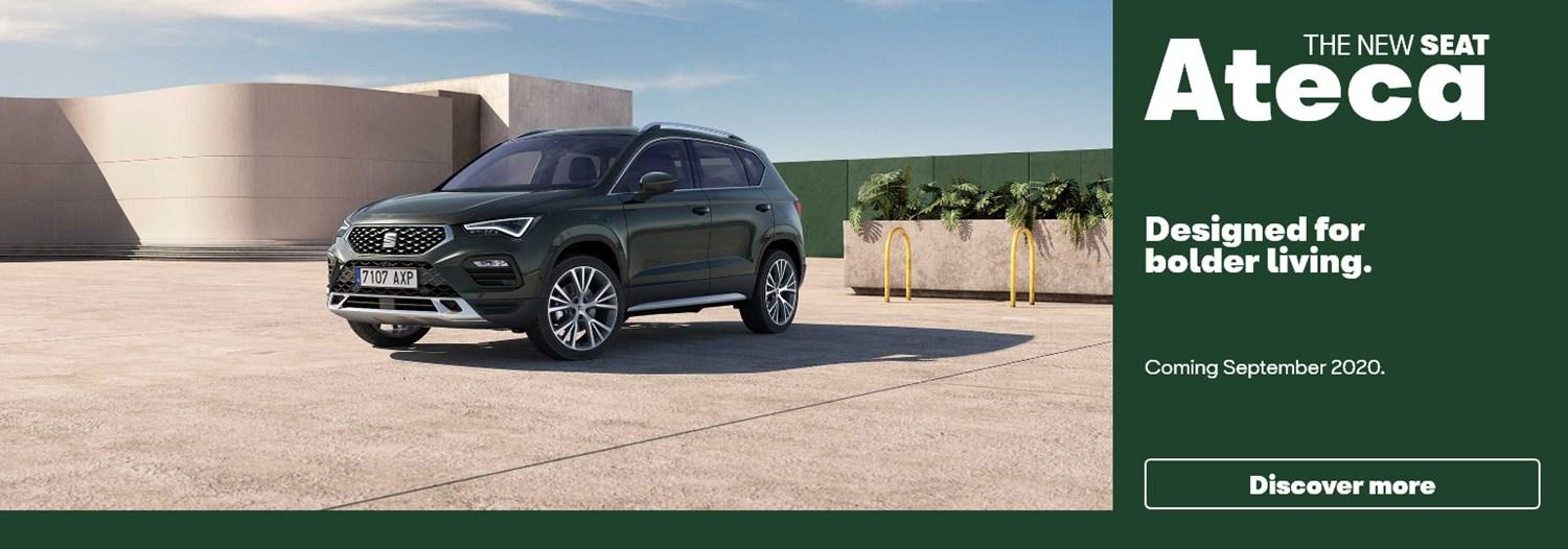New Seat Ateca coming soon banner