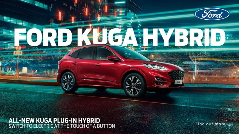 All-New Ford Kuga from £285 per month with 0% APR