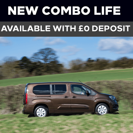 Brand New Vauxhall Combo Life - £379 A Month | £0 Deposit - PCP