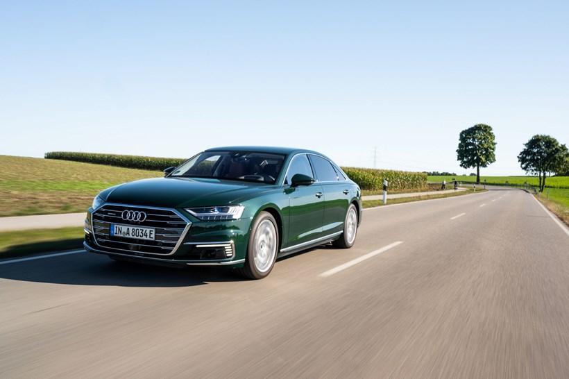 New Audi A8 TFSI e