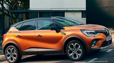 Renault Captur E-Tech Plug-in Hybrid Motability Offers