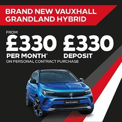 New Grandland Hybrid Offer