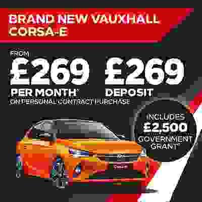 New Corsa-e Offer