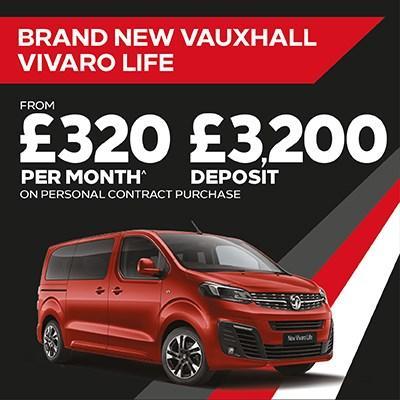 New Vivaro Life Offer