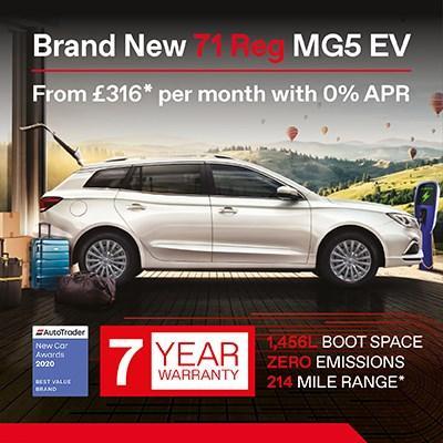 New MG5 EV Offer