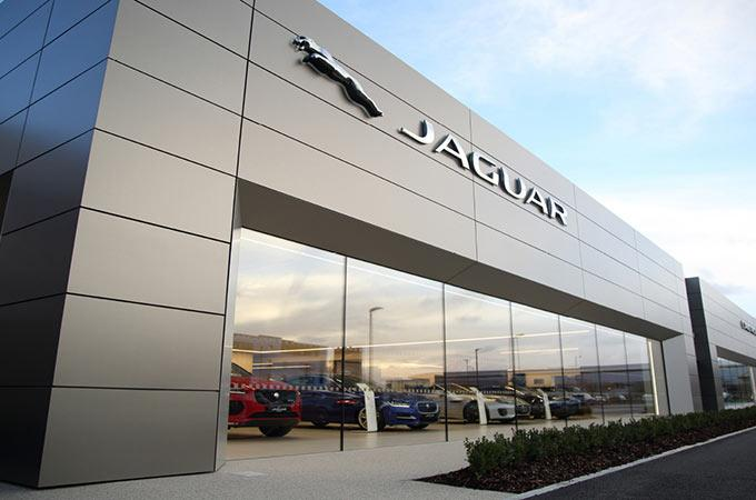 Jaguar dealership exterior