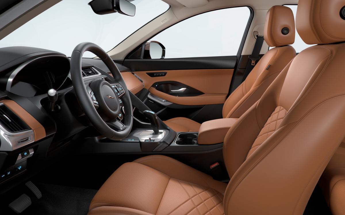 Jaguar Leather Interior